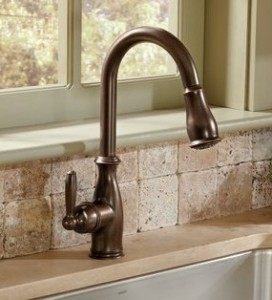 moen bronze kitchen faucets moen brantford 20812