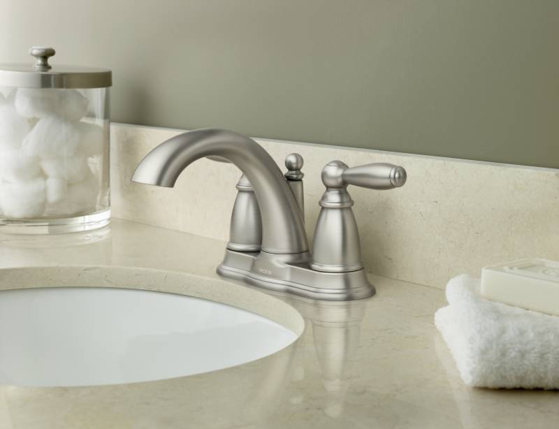 Moen 6610bn Brantford Two Handle Centerset Lavatory Faucet