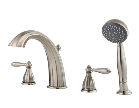 Price Pfister Rt6 4rpk Portola Roman Tub Faucet Trim With